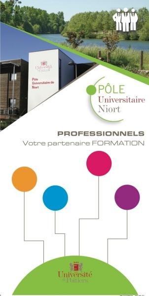Document de communication du Pôle Universitaire de Niort