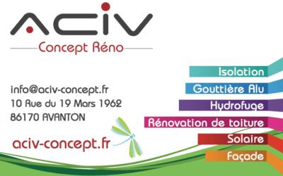 Nouvelle communication pour la société ACIV