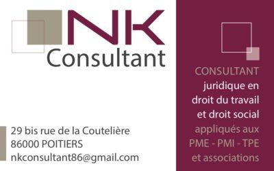 Lancement de NK Consultant Poitiers 86