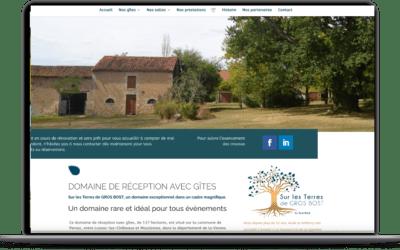 Site web pour un magnifique domaine