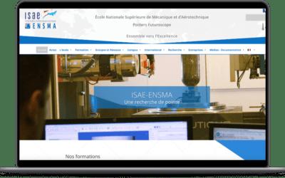 Création site internet ISAE-ENSMA